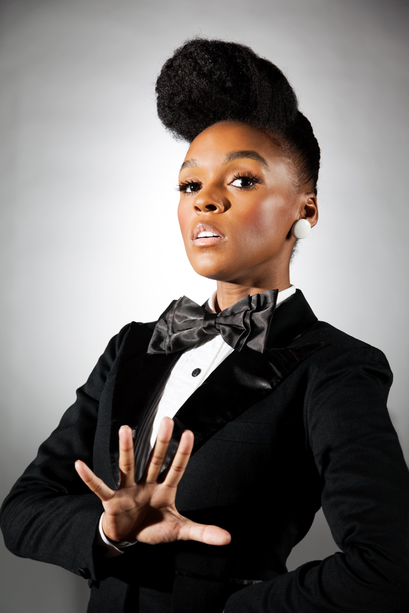 Janelle Monae Magazine Shoot